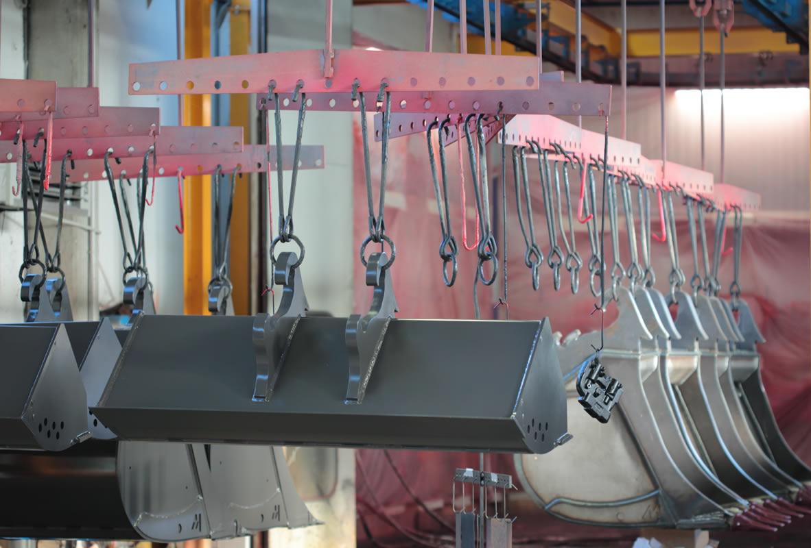 verniciatura manuale con azoto